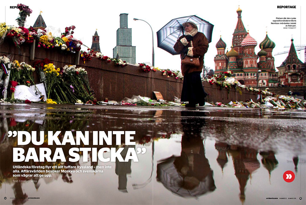 Reportage från Ryssland